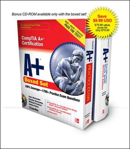 CompTIA A+ Certification Boxed Set (Exams 220-701 & 220-702): Jane Holcombe,Charles Holcombe,...