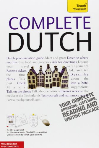 9780071760737: Teach Yourself Complete Dutch: From Beginner to Intermediate [With Paperback Book]