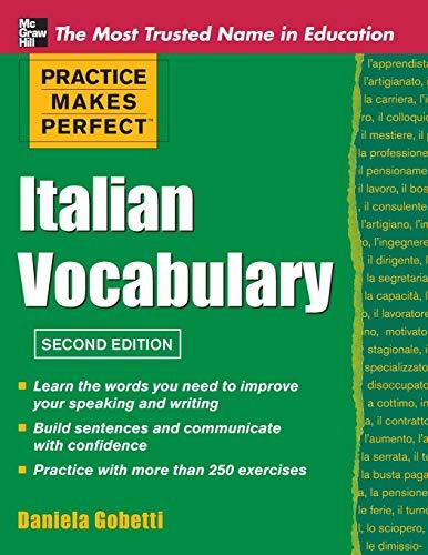 9780071760966: Practice Makes Perfect Italian Vocabulary (Practice Makes Perfect Series)