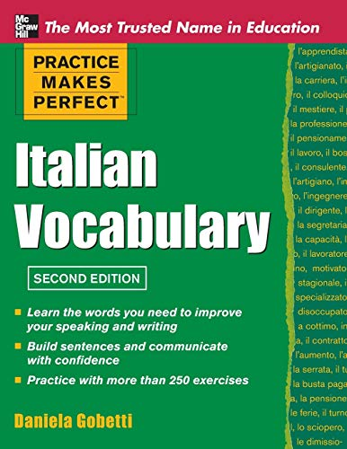 9780071760966: Practice Makes Perfect Italian Vocabulary (Practice Makes Perfect Series)