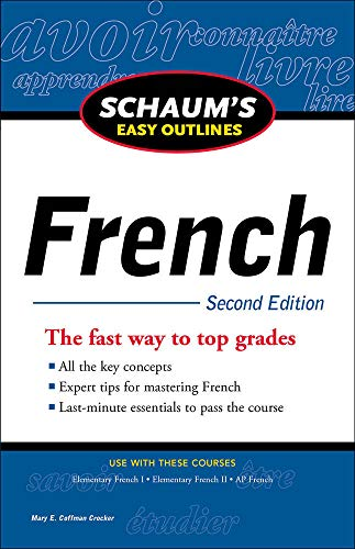 9780071761000: Schaum's Easy Outline of French, Second Edition (Schaum's Easy Outlines)