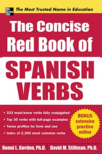 9780071761048: The Concise Red Book of Spanish Verbs (Big Book Series)