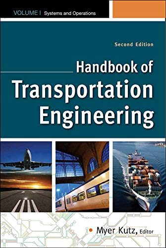Handbook of Transportation Engineering Volume I & Volume II: Myer Kutz