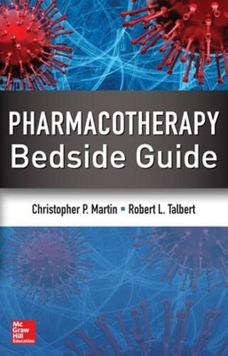 9780071761307: Pharmacotherapy Bedside Guide