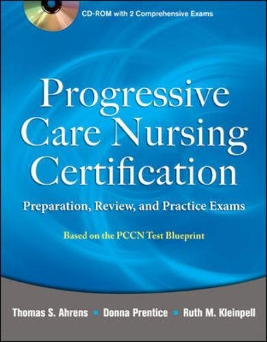 9780071761444: Progressive Care Nursing Certification: Preparation, Review, and Practice Exams
