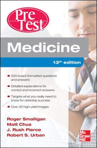 9780071761499: Medicine PreTest Self-Assessment and Review, Thirteenth Edition