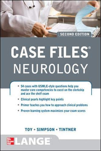 9780071761703: Case Files Neurology, Second Edition (LANGE Case Files)