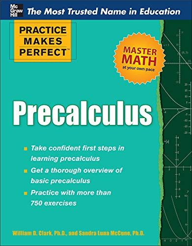 9780071761789: Practice Makes Perfect Precalculus (Practice Makes Perfect Series)