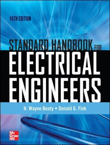 9780071762328: Standard Handbook for Electrical Engineers Sixteenth Edition