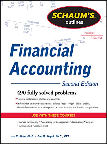9780071762502: Schaum's Outline of Financial Accounting, 2nd Edition
