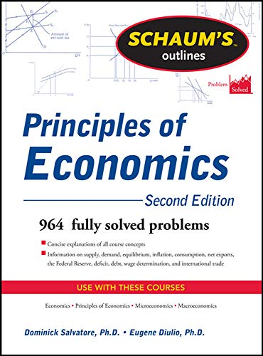 9780071762533: Schaum's Outline of Principles of Economics, 2nd Edition