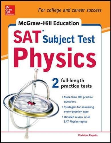 9780071762946: McGraw-Hill's SAT Subject Test Physics (McGraw-Hill's SAT Physics)
