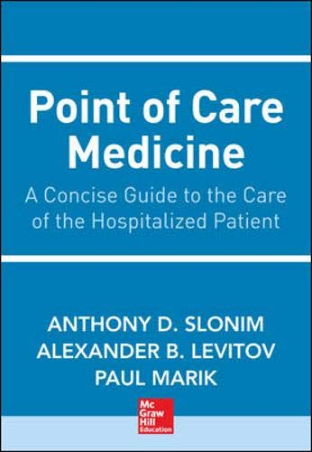 9780071762984: Point of Care Medicine