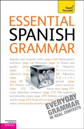 9780071763233: Essential Spanish Grammar: A Teach Yourself Guide (Teach Yourself: Reference)