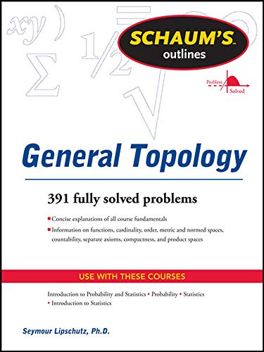 9780071763479: Schaums Outline of General Topology