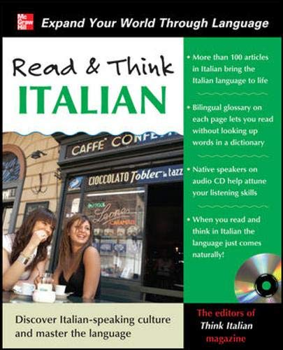 9780071763653: Read and Think Italian with Audio CD (Read & Think)