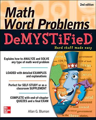 9780071763868: Math Word Problems Demystified 2/E
