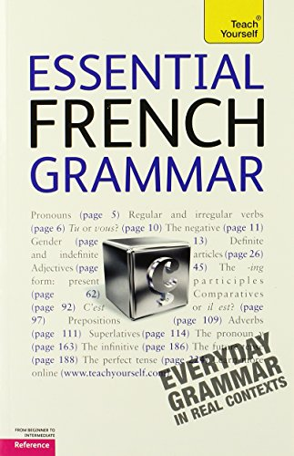 9780071763981: Essential French Grammar (Teach Yourself: Reference)