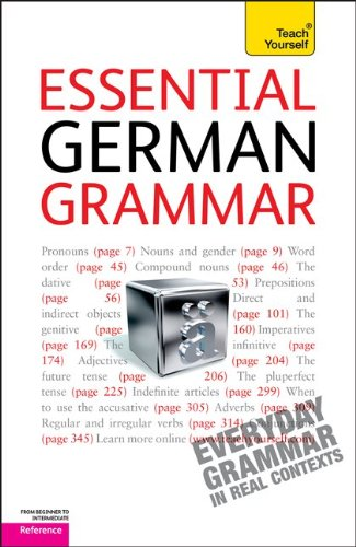 9780071763998: Essential German Grammar (Teach Yourself: Reference)