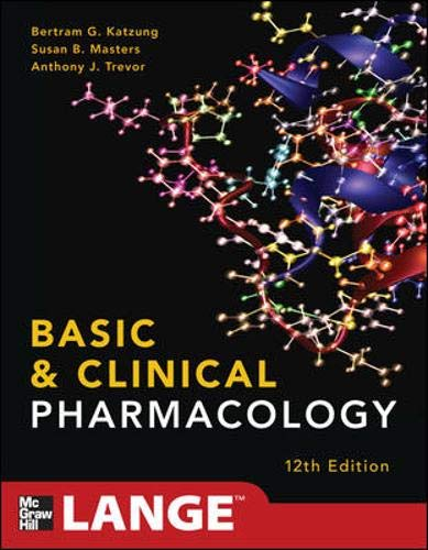 9780071764018: Basic and clinical pharmacology (Medicina)
