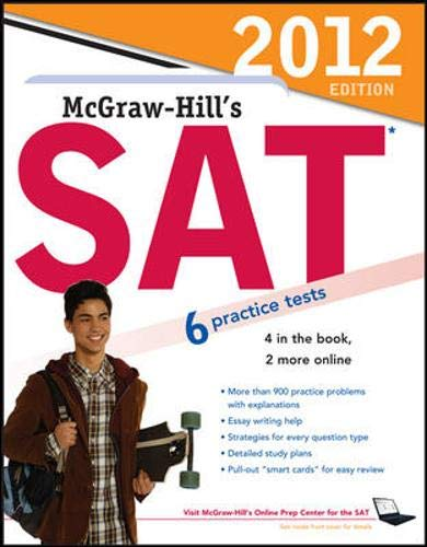 9780071764094: McGraw-Hill's SAT, 2012 Edition