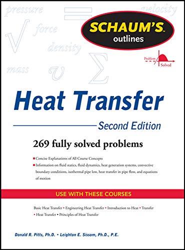 9780071764292: Schaum's Outline of Heat Transfer, 2nd Edition (Schaum's Outlines)