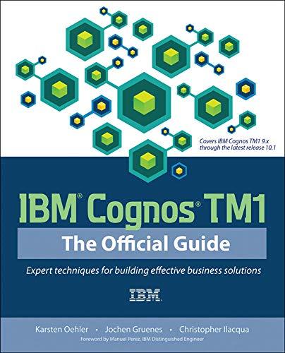 9780071765695: IBM Cognos TM1 The Official Guide
