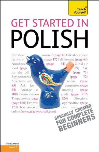 9780071765831: Get Started in Polish with Two Audio CDs: A Teach Yourself Guide