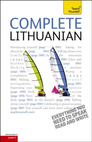 9780071765985: Complete Lithuanian (Teach Yourself: Level 4)
