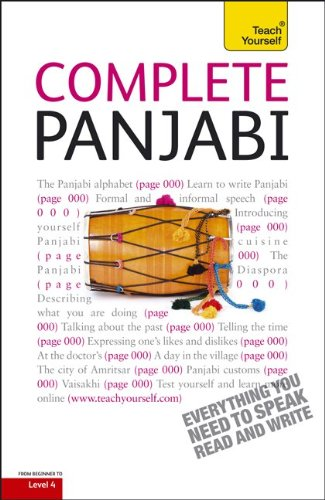 9780071766029: Complete Panjabi with Two Audio CDs: A Teach Yourself Guide (Teach Yourself Language)