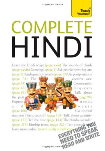 9780071766098: Complete Hindi (Teach Yourself)
