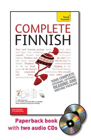 9780071766180: Complete Finnish with Two Audio CDs: A Teach Yourself Guide (Teach Yourself Language)
