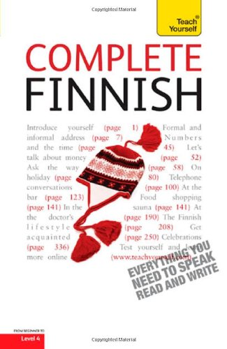 9780071766197: Complete Finnish (Teach Yourself: Level 4)