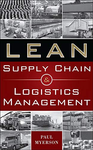 9780071766265: Lean Supply Chain and Logistics Management (Mechanical Engineering)