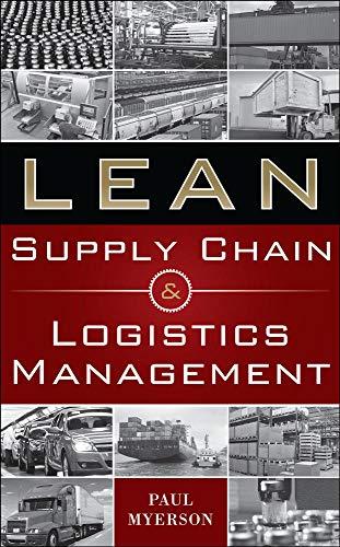 9780071766265: Lean supply chain and logistics management (Economia e discipline aziendali)