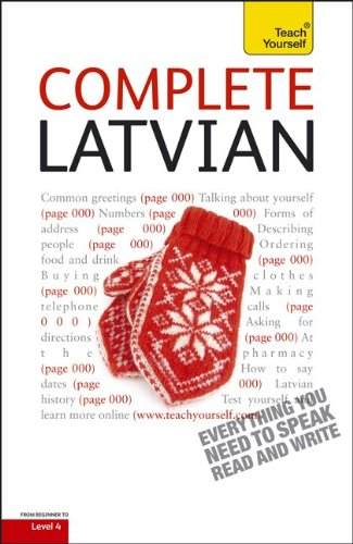 9780071766289: Complete Latvian [With Book(s)] (Teach Yourself)