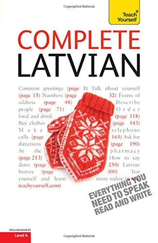 9780071766296: Complete Latvian: A Teach Yourself Guide (Teach Yourself Language)
