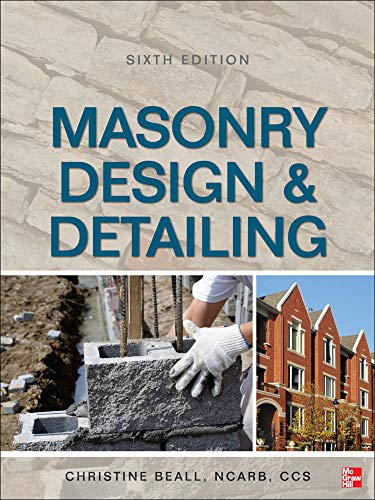 9780071766395: Masonry Design and Detailing Sixth Edition