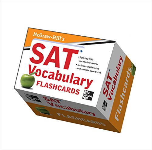 9780071766418: McGraw-Hill's SAT Vocabulary Flashcards (Test Prep)