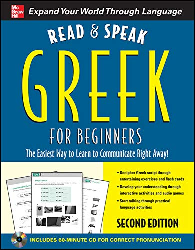 9780071766432: Read and Speak Greek for Beginners with Audio CD, 2nd Edition (Read and Speak Languages for Beginners)