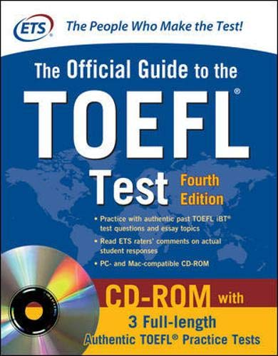 9780071766586: Official Guide to the TOEFL Test With CD-ROM, 4th Edition