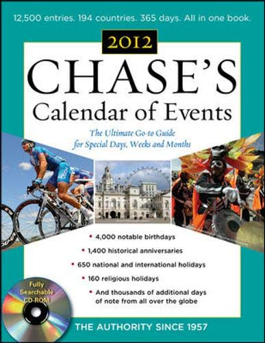 9780071766722: Chases Calendar of Events, 2012 Edition