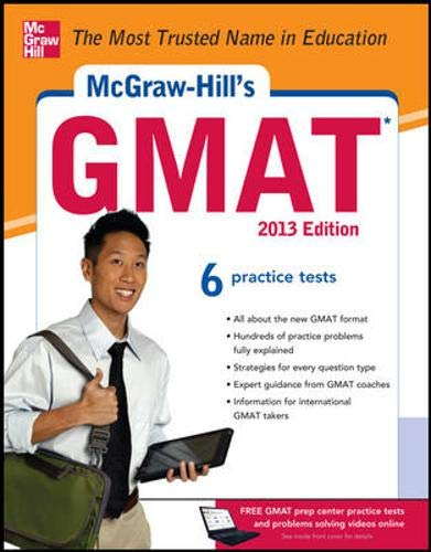 9780071766937: McGraw-Hill's GMAT, 2013 Edition