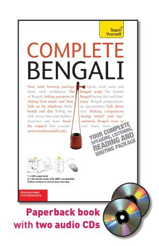 9780071767026: Complete Bengali with Two Audio CDs: A Teach Yourself Guide (Teach Yourself Language)