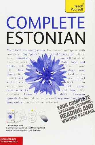 9780071767125: Complete Estonian with Two Audio CDs: A Teach Yourself Guide (Teach Yourself Language)