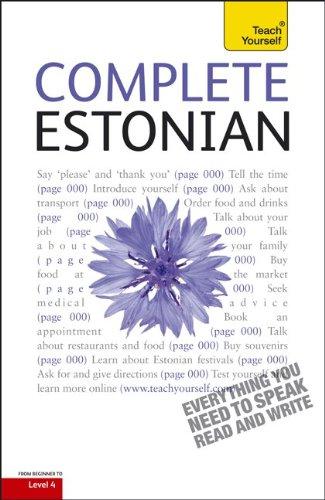 9780071767132: Complete Estonian: A Teach Yourself Guide (Teach Yourself Language)