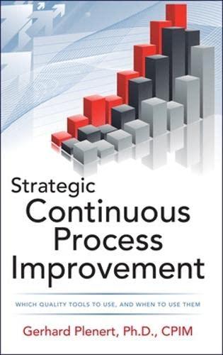 9780071767187: Strategic Continuous Process Improvement