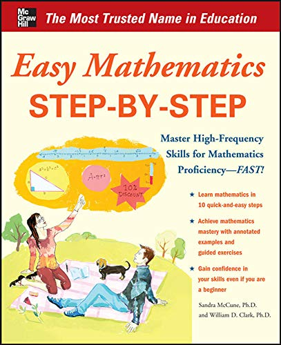 9780071767651: Easy Mathematics Step-by-Step (Easy Step-by-step Series)