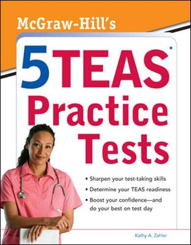 9780071767774: McGraw-Hill's 5 TEAS Practice Tests