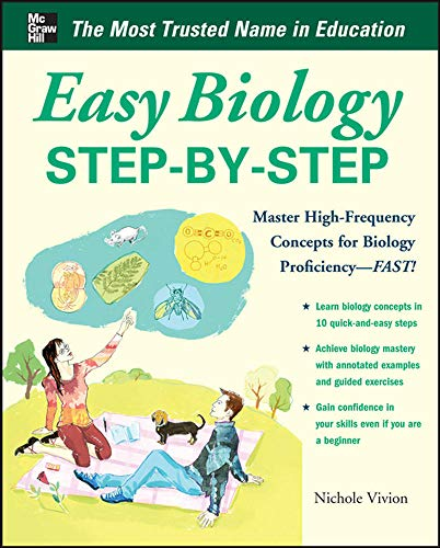 9780071767798: Easy Biology Step-by-Step (Easy Step-by-Step Series)